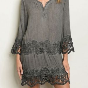 Dresses - 🇺🇸 MINERAL WASHED DRESS